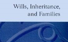 Will, Inheritance, Family Settlement